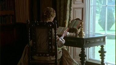 Caroline reading.