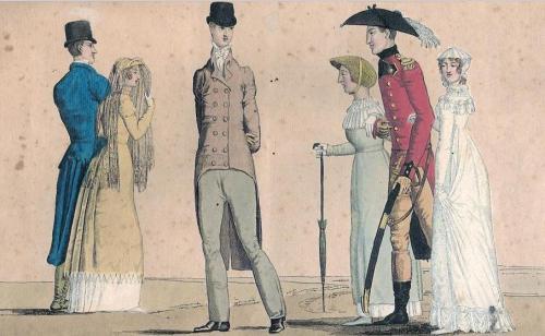 Les modes anglais, 1810