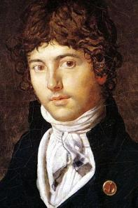Ingres Portrait of Bernier, 1800