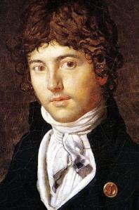 Ingres Portrait of Bernier, 1800
