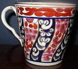 English worcester porcelain chocolate cup, 1800