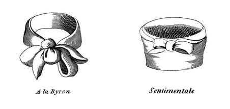 Two examples of cravat styles
