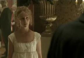 Jane approaches Mr. Bingley for a dance