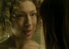 Mrs. Bennet (Alex Kingston) warns Amanda