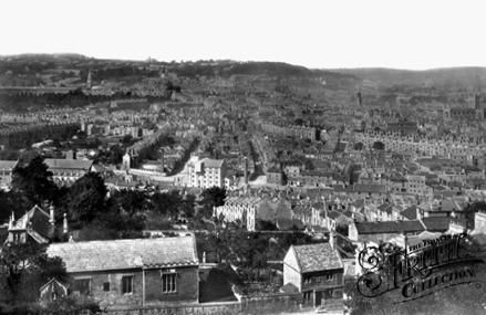 View from Beechen Cliff, 1876