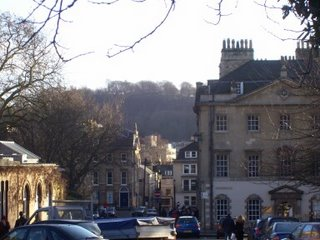 Beechen Cliff Above Queen Square, photo by Rob Hardy