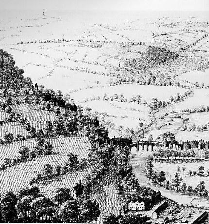Beechen Cliff, 1734