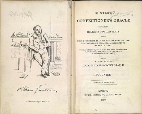 Gunter's Confectioner's Oracle, 1830