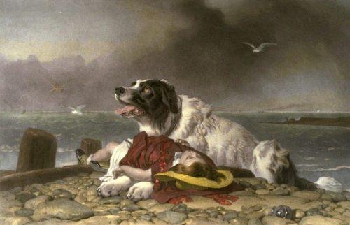 Edwin Landseer, Saved, Wikimedia Commons