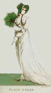 Paris dress, September 1802