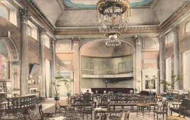Pump Room with Chandelier and Music Gallery