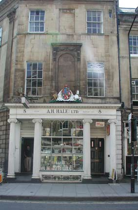 House on Pulteney Street, where Queen Charlotte Stayed