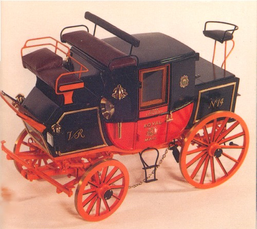 Royal Mail Coach, toy model