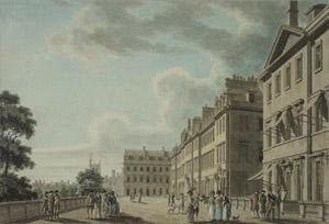 South Parade, Thomas malton, 1775
