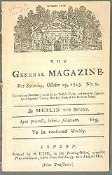 The General Magazine, 1743