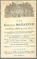 The General Magazine, 1743