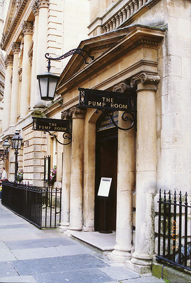 Entrance to the Pump Room