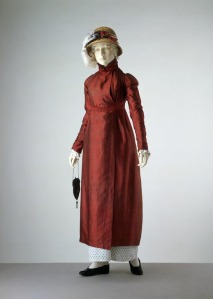 1809 Silk Pelisse, Victoria and Albert Museum