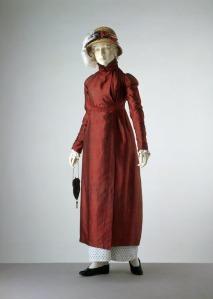 1809 Silk Pelisse, Victoria and Albert Museum