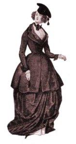 Riding costume, 1841
