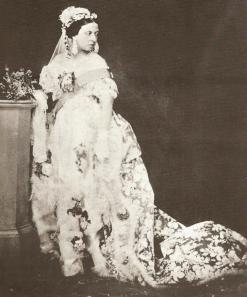 Queen Victoria's White Gown