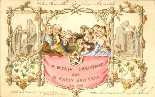 First Christmas Card Jane Austen's World