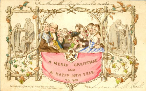First Christmas Card, 1843