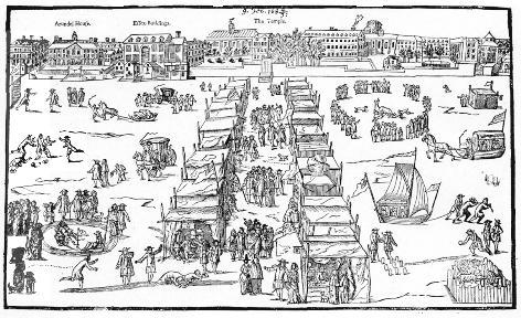 Frost Fair 1694