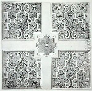 Wilton House Parterre Garden Design, 1645