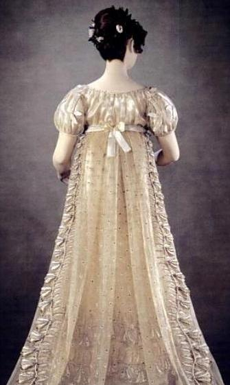 Princess Charlotte's Court Dress, 1814-16, also known as the Bellflower Dress