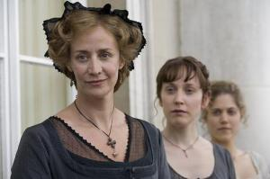 Poor Mrs. Dashwood, Elinor and Marianne were still in deep mourning