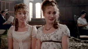 Lucy and Anne Steele had different accents. While Lucy seemed more refined, Anne stole the show.