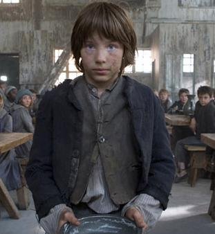 William Miller as Oliver Twist