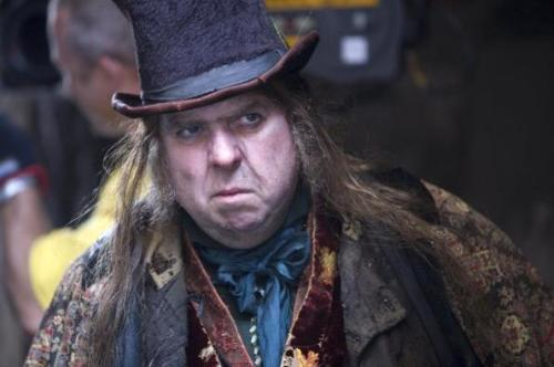 Fagin (Timothy Spall) might seem like a nicer character than the Beadle, but he represents oppression of a different kind.
