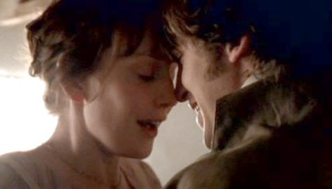The film ends on a happy and romantic note in a scene that is eerily similar to 1995's Sense and Sensibility.