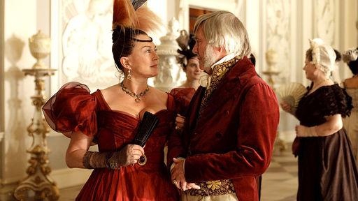 Mrs. Merdle and William Dorrit in Venice