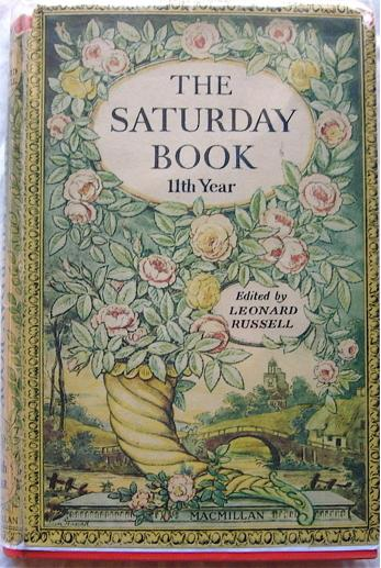 The Saturday Book, Joan Hassall dust jacket, 1951