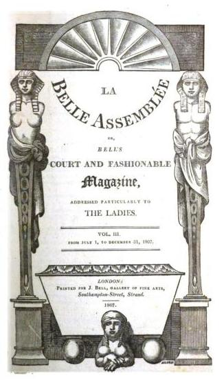 Fronticepiece of the magazine