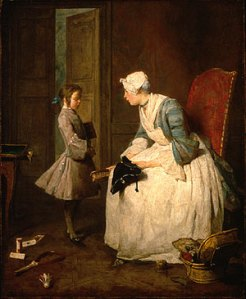 the-governess-1739-jean-simeon-chardin2