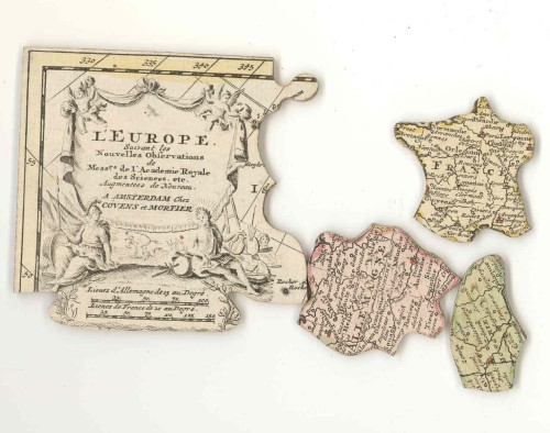 18th century Dutch dissected puzzle