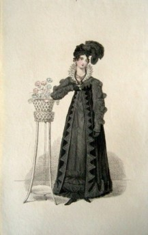 Belle Assemblee Morning Dress, 1818