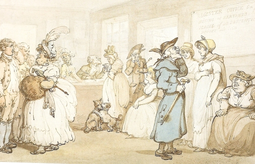 Registry Office, Rowlandson