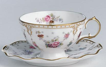 Royal crown derby tea cup, Royal Antoinette