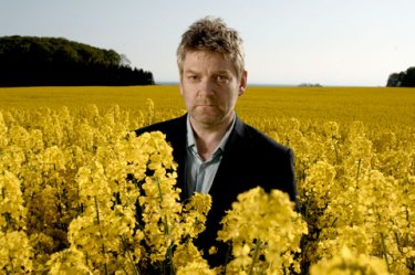 Wallander... cleary a man who doesn't get hayfever!