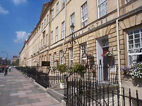 Georgian town houses in Bath