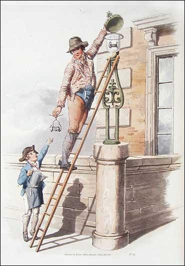 Lamplighter, Pyne, 1808