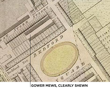 Gower Mews, since 1792