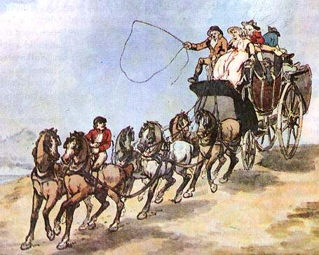 Rowlandson, Coach Travel