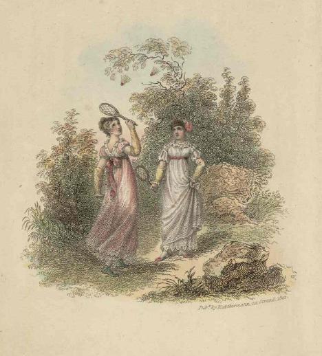 Shuttlecock, 1822