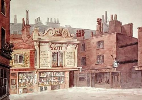 St. James's Market, Haymarket, 1850